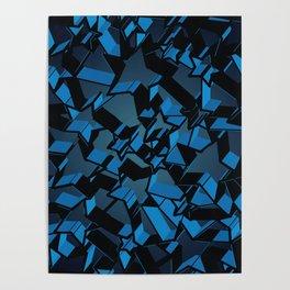 3D Mosaic BG VI Poster
