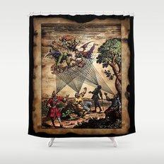 Medieval Minstrel Spirits Shower Curtain