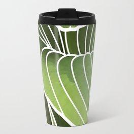 Hosta Detail Travel Mug