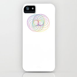 Rainbow Slinky iPhone Case
