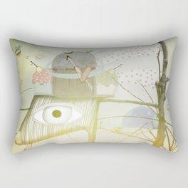 Exploring Our Dreams Rectangular Pillow