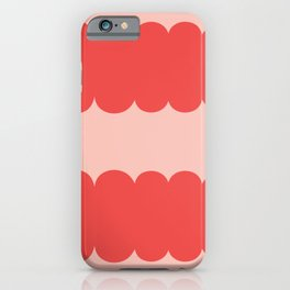 My Humps - Red on Pink iPhone Case