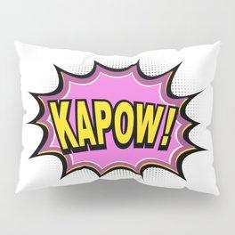 KAPOW! Comic Book Pillow Sham