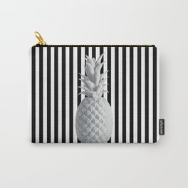 Black and White Anana | #society6 | Pineapple Carry-All Pouch