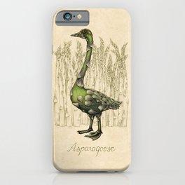Asparagoose iPhone Case