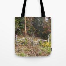Three bird houses  Tote Bag