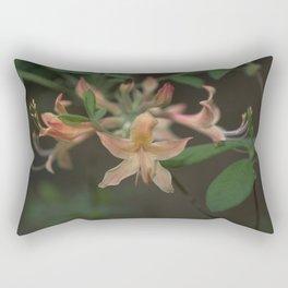 Florida Flame Azalea - Rhododendron austrinum 1 Rectangular Pillow