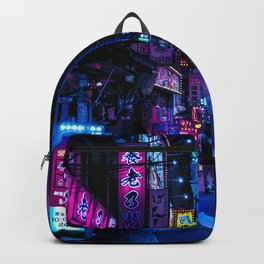 Tokyo's Moody Blue Vibes Backpack