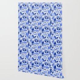 tango in blue ... Wallpaper