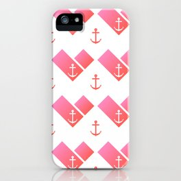 Florida Scarf Anchor Pattern iPhone Case