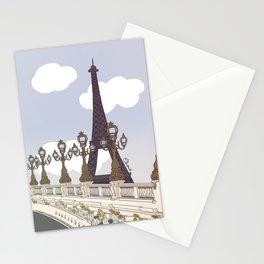 Paris, mon amour Stationery Cards