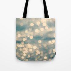 Sunlight Dancing on the Sea Tote Bag