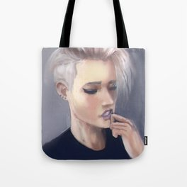 Sensual girl Tote Bag