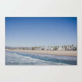 California Dreamin - Venice Beach Canvas Print