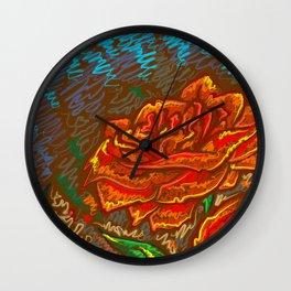 Garden of the soul Wall Clock