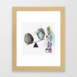 Versus Framed Art Print