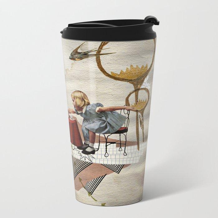 tea time Metal Travel Mug