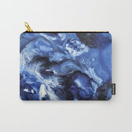 Swirling Blue Waters II - Painting Carry-All Pouch