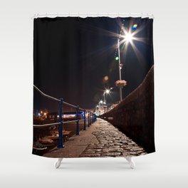 Guernsey Night Path Shower Curtain