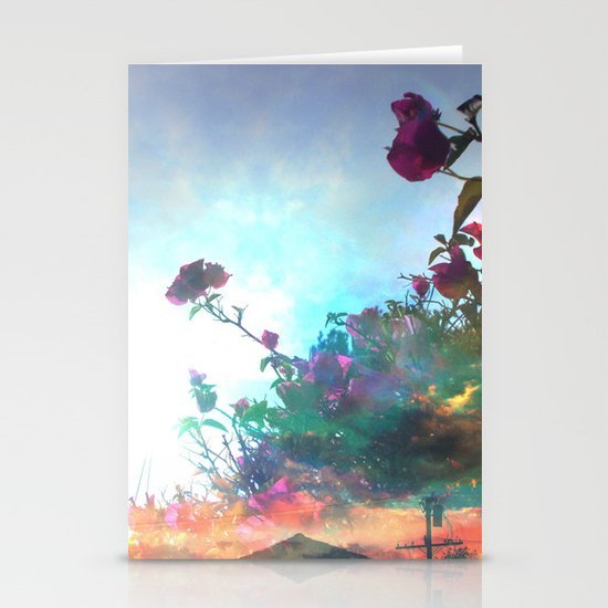 Storm of a Green Thumb Stationery Cards