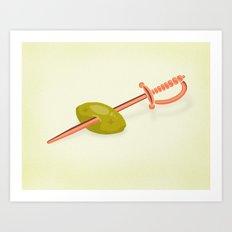 Olive's death Art Print