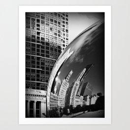 The Bean Reflections Art Print