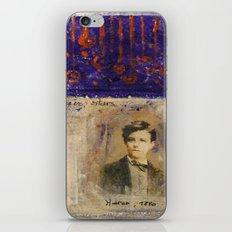 SAHARA BLUE iPhone & iPod Skin