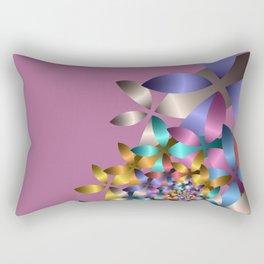 less is more -12- Rectangular Pillow