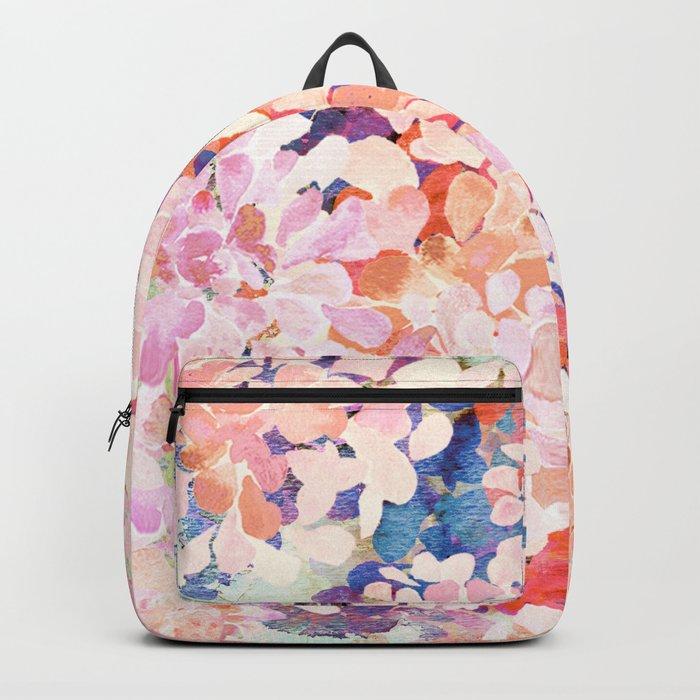 happy flowers Backpack