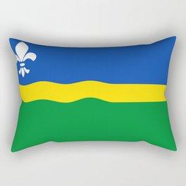 Flag of Flevoland Rectangular Pillow