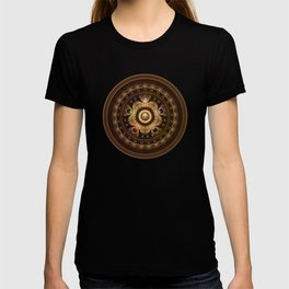The Five Fractal Jeweled Elements of Qi Gong T-shirt