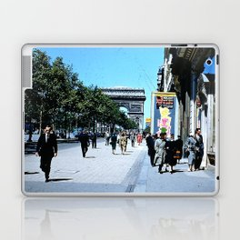 Days Long Past: Paris Laptop & iPad Skin