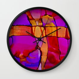 Southwest Cliff Wall Wall Clock