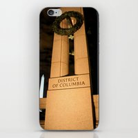 washington dc iPhone & iPod Skins featuring Washington DC by GregoryBurgess Photography