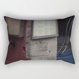 Old Montreal colourful building Rectangular Pillow