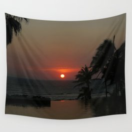 Acapulco Red Wall Tapestry