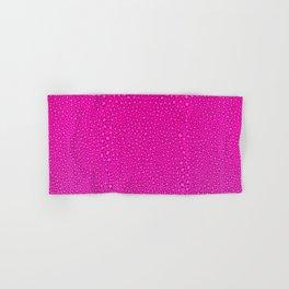 Wild Thing Hot Pink Leopard Print Hand & Bath Towel