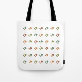 The leaves fall Tote Bag