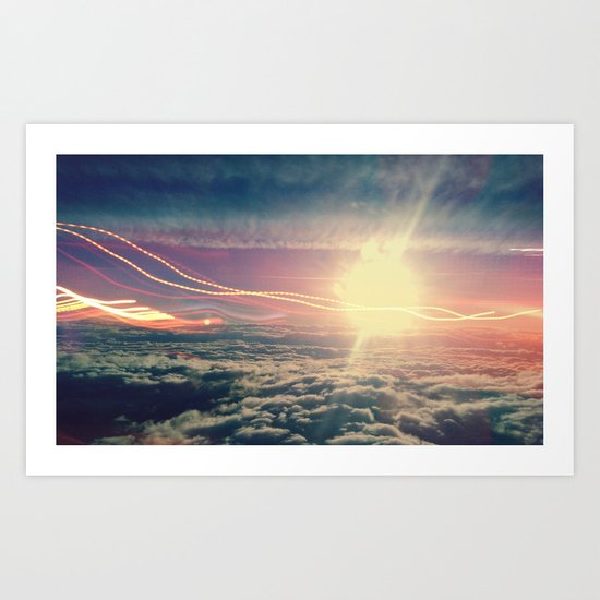 Be Light Art Print