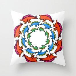 Stego Mandala Throw Pillow