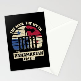 The Man The Myth The Panamanian Legend Dad Stationery Cards