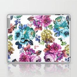 Fluorescent Roses Laptop & iPad Skin