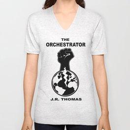 The Orchestrator cover Unisex V-Neck