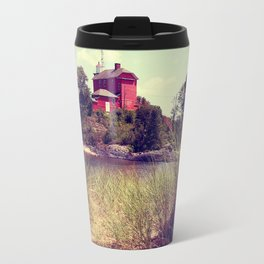 Coast Guard Light House Travel Mug