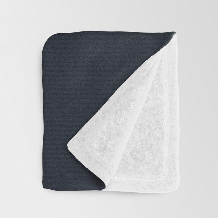 vermilion line Throw Blanket