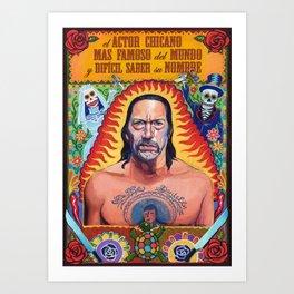 Danny Machete Trejo Art Print