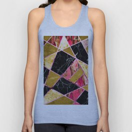 Abstract #456 Unisex Tank Top