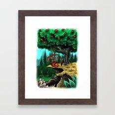 Under the Mango Tree Framed Art Print