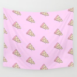 CHEESY PIZZA Wall Tapestry