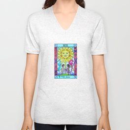 The Sun - Tarot Unisex V-Neck